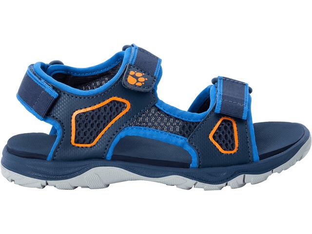 Jack Wolfskin Taraco Beach Sandals Kids blue/orange
